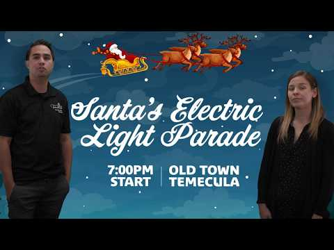 Mike Dellinger - Temecula's Santa's Electric Light Parade