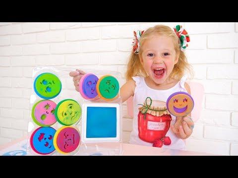Настя и детские штампы - эмоции
