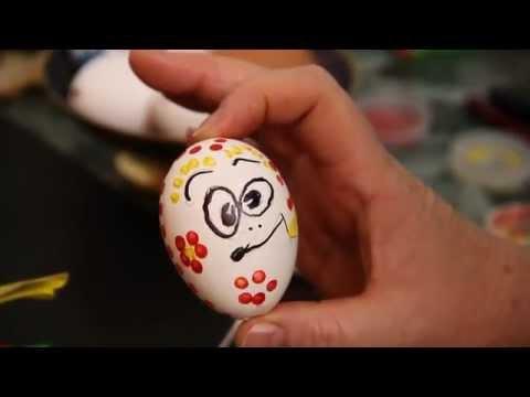 Оригинальные елочные игрушки своими руками из яйца
