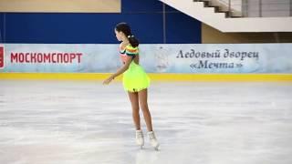 Яна Ливенцева КП старшие Первенство Москвы младшего возраста февраль 2018