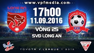 Dong Tam Long An vs Hai Phong full match