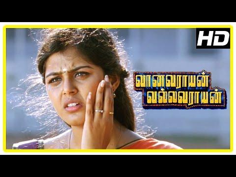 Vanavarayan Vallavarayan Movie Scenes   Ma Ka Pa insults Jayaprakash   Krishna slaps Monal