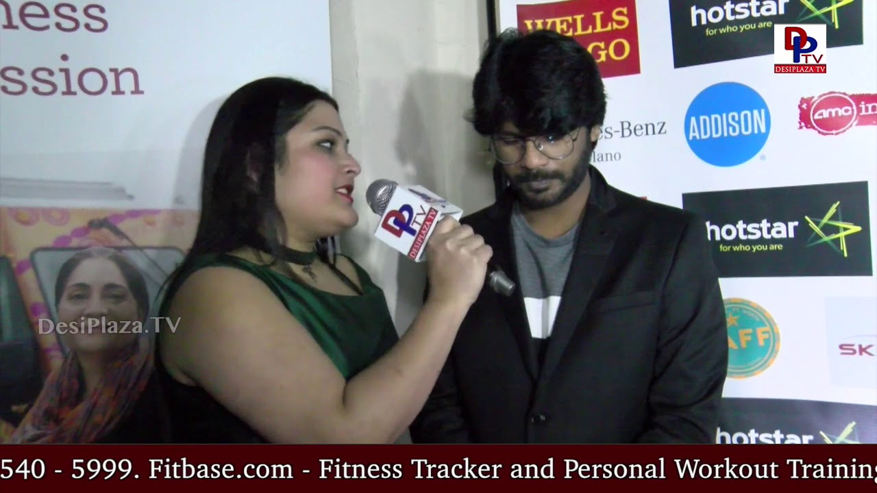 Siddhartha Jatla, director of 'Love and Shukla' movie speaks to Desiplaza TV at DFWSAFF 2018 Opening