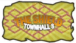 Clash of Clans ★ Townhall 8 HybridBase ★ - The Shield - ★ PaddiCoC