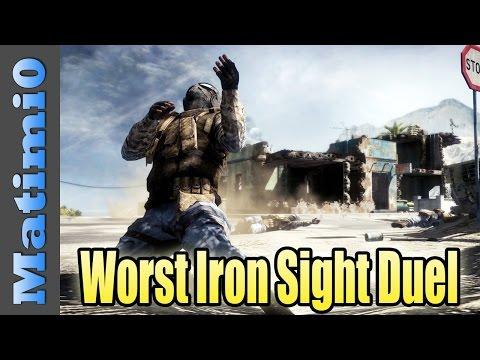 WTF Iron Sights Duel - Shaming Levelcap's Family - Battlefield 4