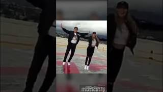LianeV on musical.ly dancing with her dad
