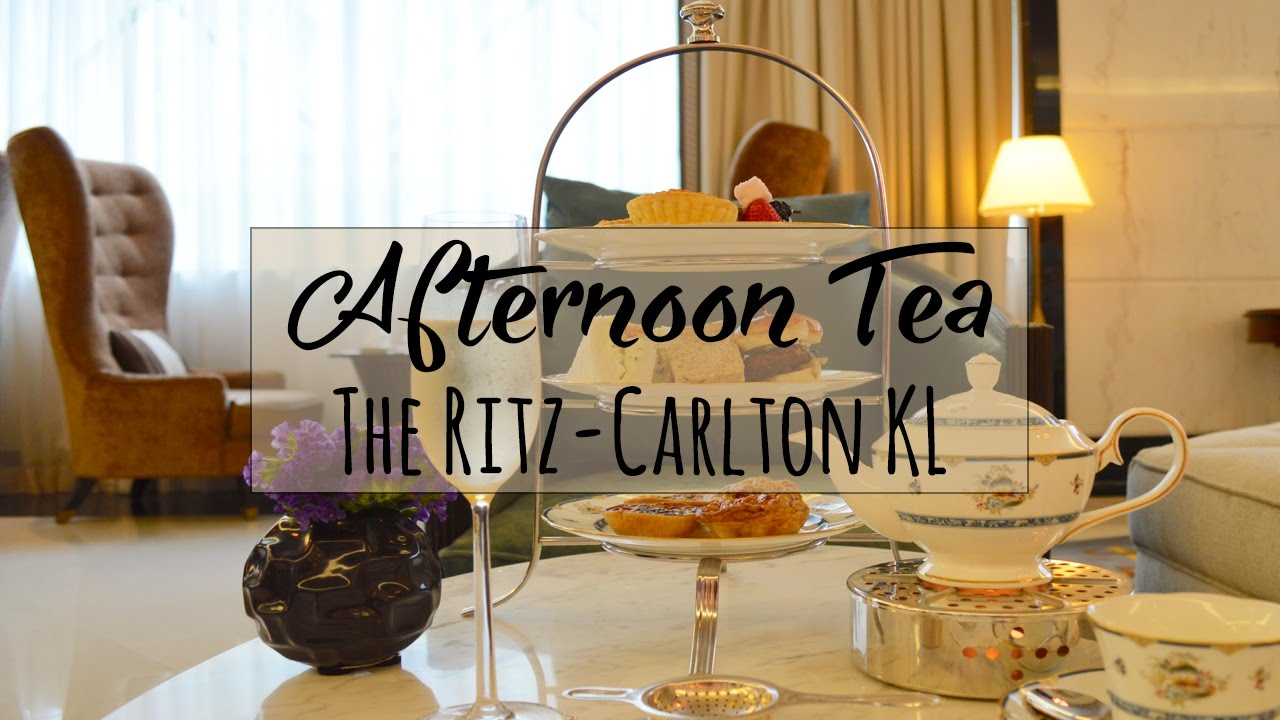 Afternoon tea at the ritz carlton kuala lumpur