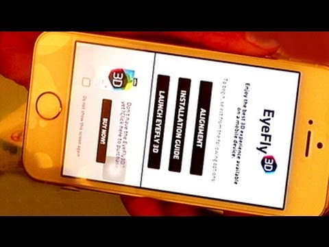 Convert your 2D phone into 3D