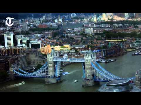london-sunset-timelapse-from-the-shard,-europe's-tallest-hotel