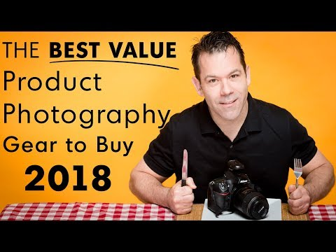 Best Product Photography Gear & Workflow (2018)