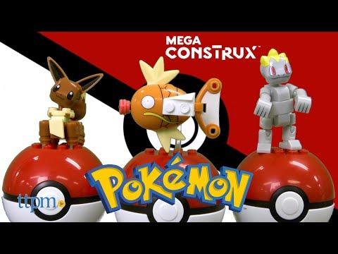 Pokemon Eevee,  Magikarp & Machop from MEGA Construx