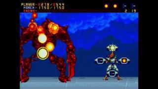 Alien Soldier JP Mega Drive Playthrough Superhard Difficulty 1CC
