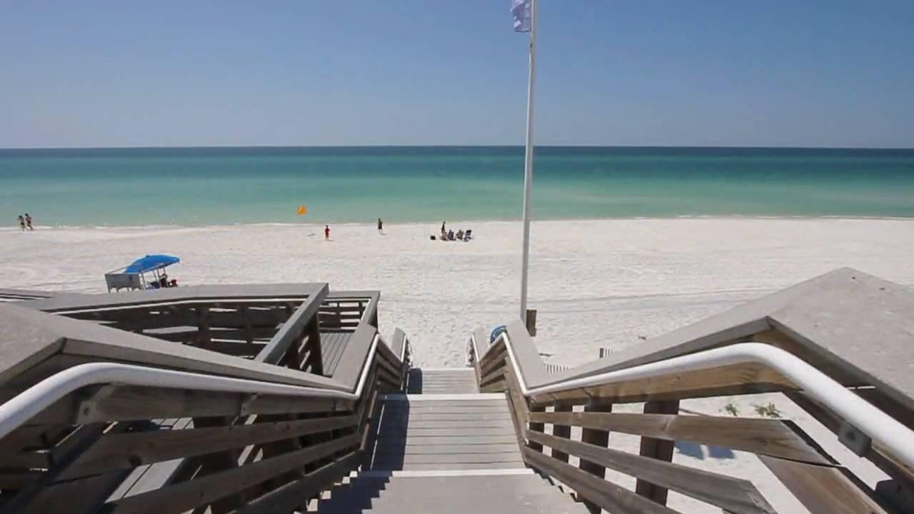 Sowal Beach Access Van Ness Butler Jr Between Seaside Watercolor Florida You