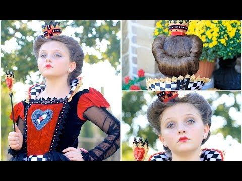 Queen of Hearts (Red Queen) | Halloween Hairstyles