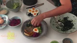 Nadine's Feast with Nadine Abensur - Nadine's  Sunny Breakfast  Bowl