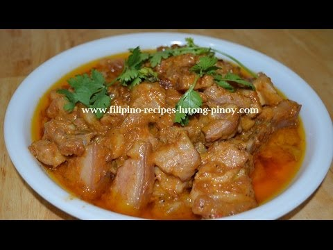 Pork binagoongan lutong pinoy filipino recipe youtube pork binagoongan lutong pinoy filipino recipe forumfinder Choice Image