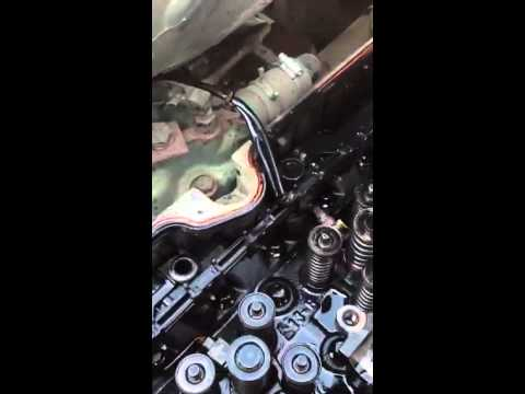 2008 Detroit Diesel 60 Series Injector Removal