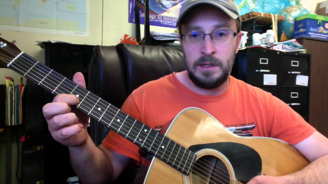 Upside down guitar chords
