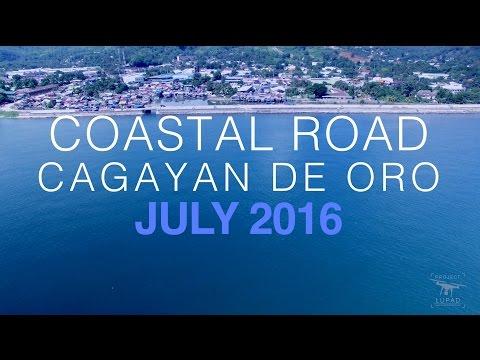 Coastal Road Cagayan de Oro July 2016 Progress Update 4K