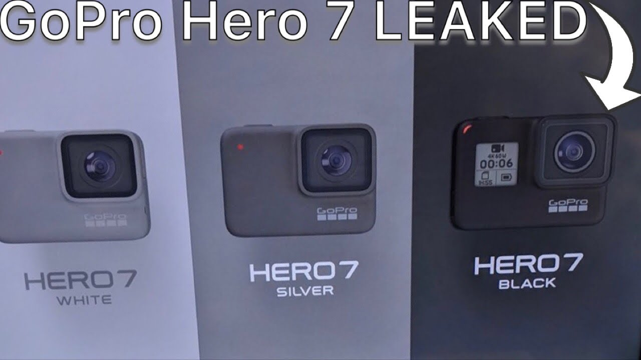 GoPro Hero 7 leaked - release date soon