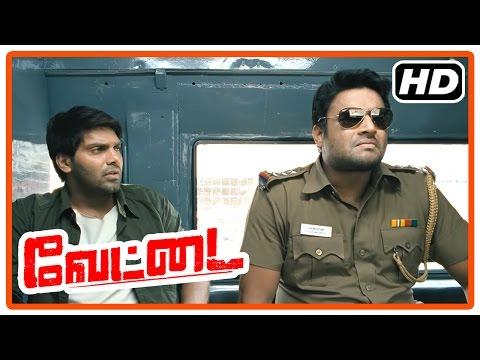 Vettai Tamil Movie | Action scenes | Arya | Madhavan | Ashutosh Rana | Sameera Reddy | Amala Paul