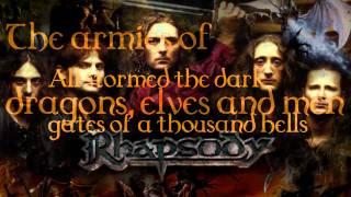 Скачать Rhapsody Of Fire On The Way To Ainor With Lyrics
