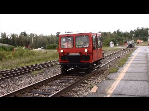 MOTORCARS! NARCOA excursion on the Ontario Northland Temagami Sub (Aug 28, 2016)