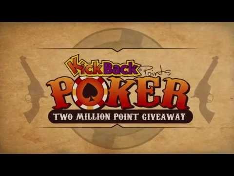 KickBack Points Poker Promotion