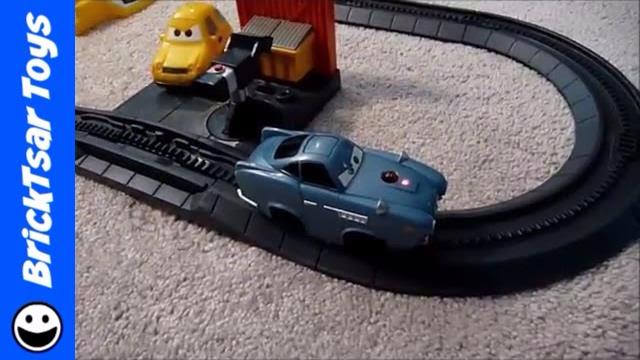 Cars 2 Geotrax World Grand Prix Fisher Price Disney Pixar Rc Set Youtube