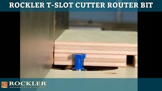 Rockler T-Slot Cutter Router Bit
