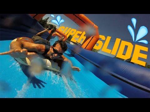 super slide la grande glisse epic water slide glissade. Black Bedroom Furniture Sets. Home Design Ideas