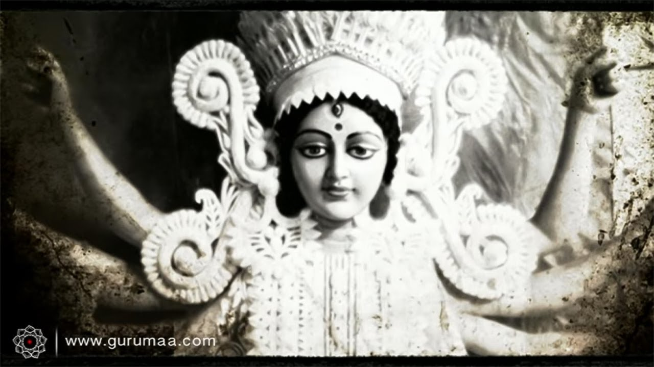 Mahishasura Mardini Stotram Maa Durga Stuti Stotra Anandmurti Gurumaa With English Subtitles Youtube