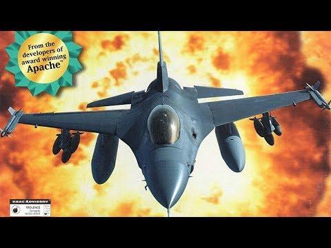 Digital Integration F-16 Fighting Falcon 1997 - Cyprus Campaign Mission