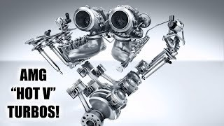 mercedes clever turbo engine hot inside v