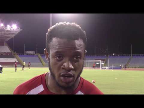 Jomal Williams talks about preparations ahead of Costa Rica Qualifier