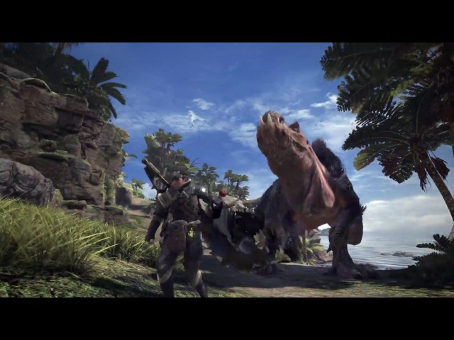 Monster Hunter World - Trailer d'annonce E3 2017