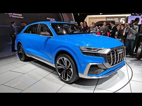 new audi q8 concept suv 2018 youtube. Black Bedroom Furniture Sets. Home Design Ideas
