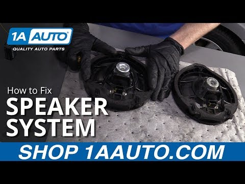 How To Fix Car Speakers
