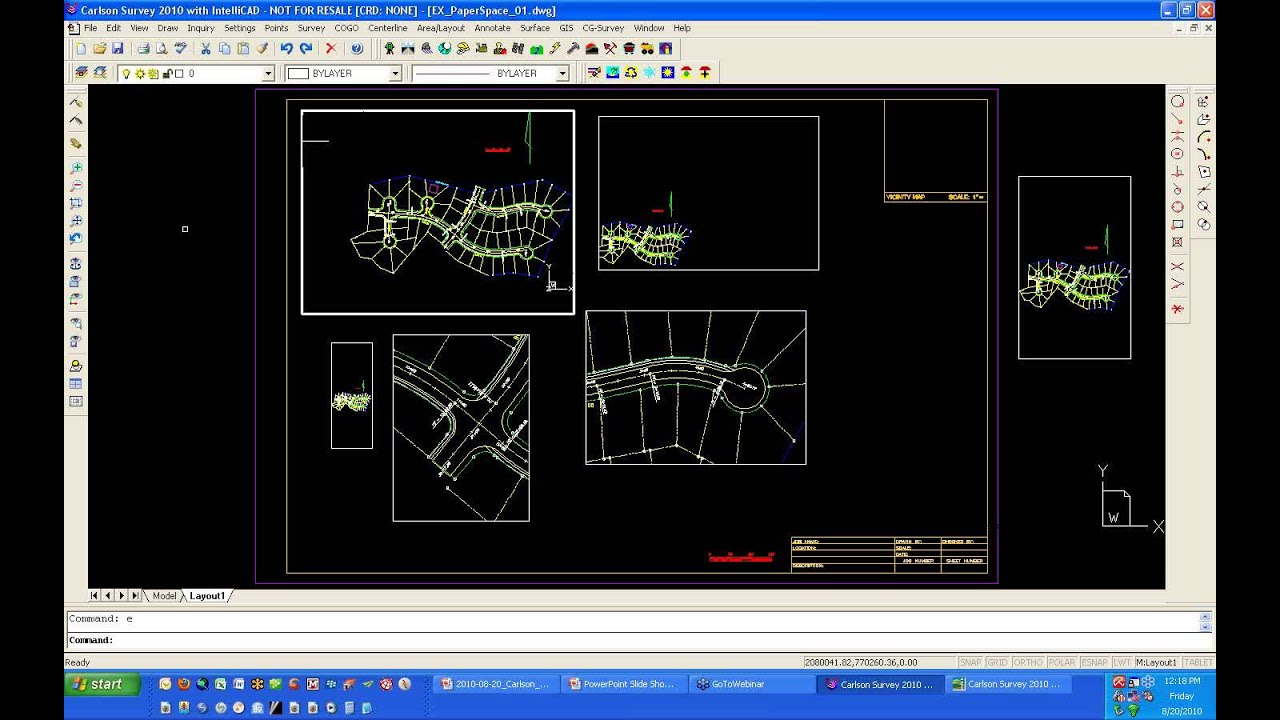 Papercraft Paper Space and Model Space in IntelliCAD and AutoCAD