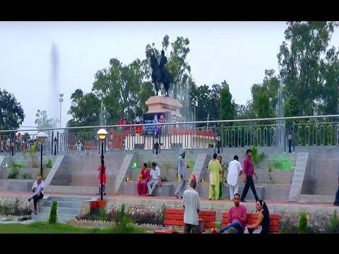 Musical Fountain Maharaja Ranjit Singh Company Bagh in Amritsar 2