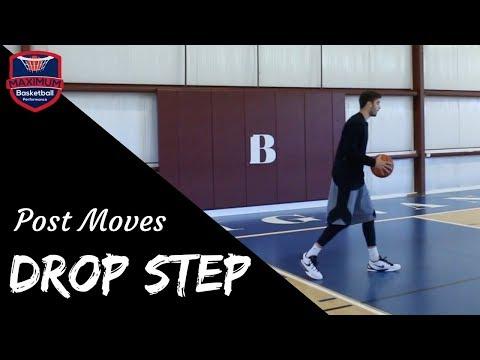 Post Moves - Drop Step   Maximum Basketball Performance