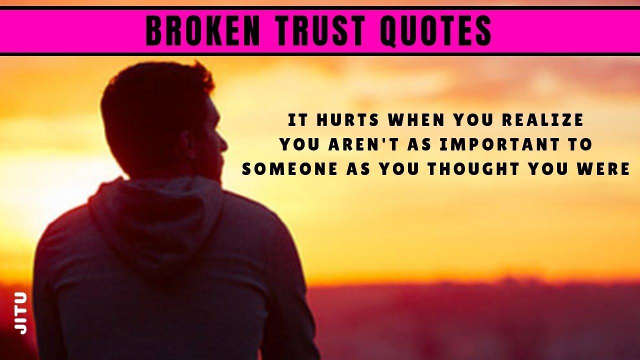 Broken Trust Quotes Broken Heart Quotes Love Dairies Jitu