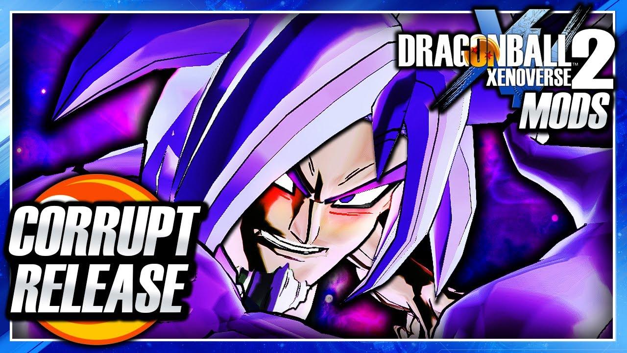 Random Book 2 - Dragon Ball Xenoverse 2 Half Corrupted Cac