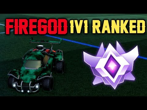 O FIREGOD É BOM DEMAIS ?!?!?! | Rocket League (1v1 Ranked) thumbnail