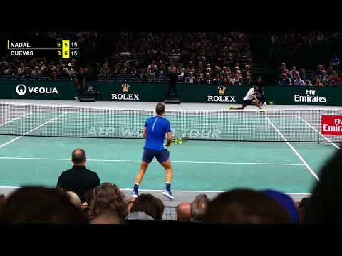 Rafael Nadal vs Pablo Cuevas - PARIS 2017 Highlights HD