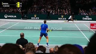 Rafael Nadal vs Pablo Cuevas - PARIS 2017 Highlights HD