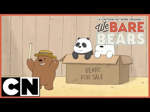 We Bare Bears | Baby Bears At Funfair (Clip 1) | Cartoon Network