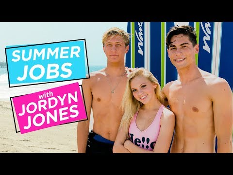 JORDYN JONES MALIBU SURF CAMP w/ JOEY & VAN | Summer Jobs w/ Jordyn Jones