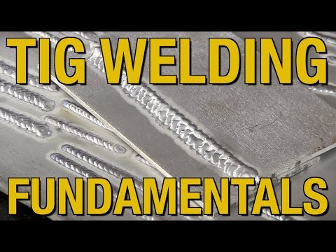 How To TIG Weld, Welding Fundamentals & TIG Welding Aluminum - Live Demo at Eastwood