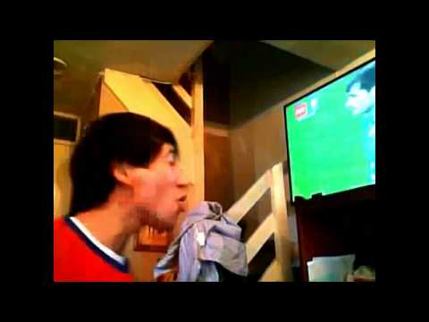 Chilean Fans go crazy after amazing 2   0 win over Spain!   Chile vs Spain   FIFA World Cup 2014